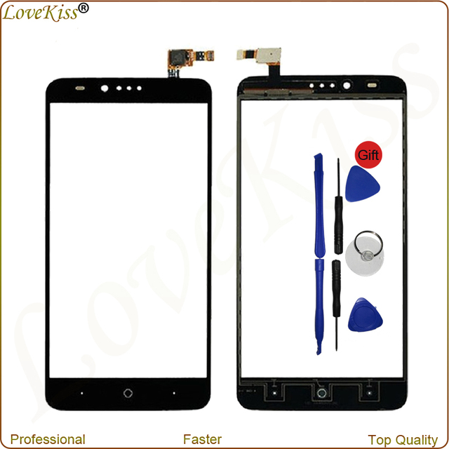 "6"" Tested Front Glass Touch Screen Digitizer For ZTE Zmax Pro Z981 Mobile Phone Accessories Bundles Repair Set Replacement Tools"