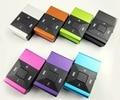 Venta al por mayor calidad caja de Metal solo Clip de teclas claves cuadrados deportes reproductor de música MP3 con ranura para tarjeta SD TF