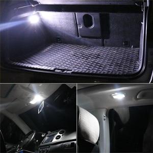 Image 5 - 2Pcs LED Lampen Für Autos 39mm LED Licht 6500K Weiß SMD Auto Dome Doppel Spitze Lesen lampe Dach Lampe Karte Dome Lichter