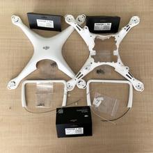 Подлинная часть корпуса DJI Phantom 4 Pro верхняя средняя крышка шасси с компасом винт запасная часть 5 6 7 для DJI P4P