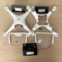 DJI جسم Phantom 4 Pro الأصلي ، معدات هبوط ، غطاء مركزي ، بوصلة ، برغي ، قطع غيار 5 6 7 لـ DJI P4P