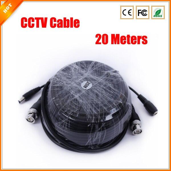 bilder für 20 mt BNC Video DC Strom Cctv-kabel für Überwachungskamera Kabel Überwachung Zubehör