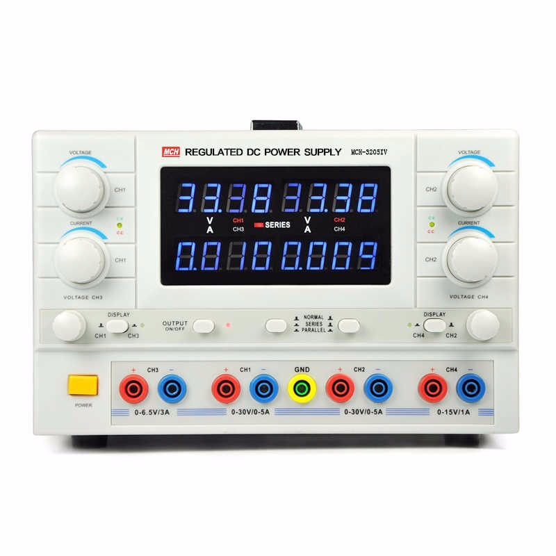 MCH 3205IV DC power supply 4 way power adjustable experimental laboratory power supply Switching Power Supply
