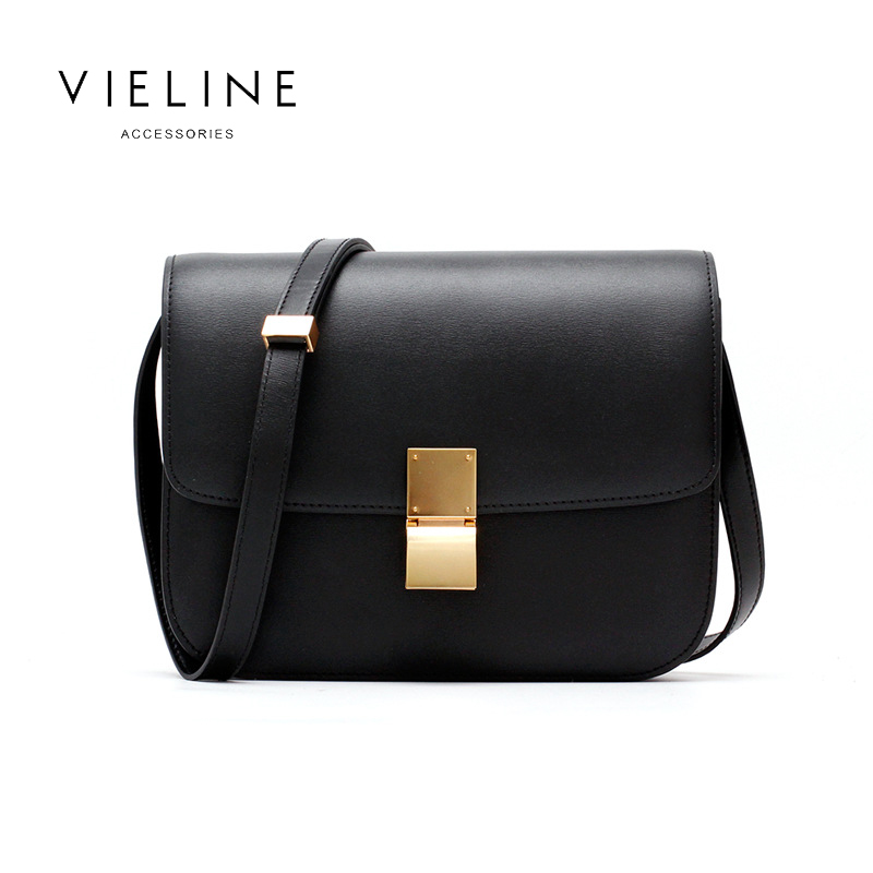 2019 New Women Genuine Leather Shoulder Bag , Real Leather Crossbody Bag, Leather Flap Bag,free Shipping