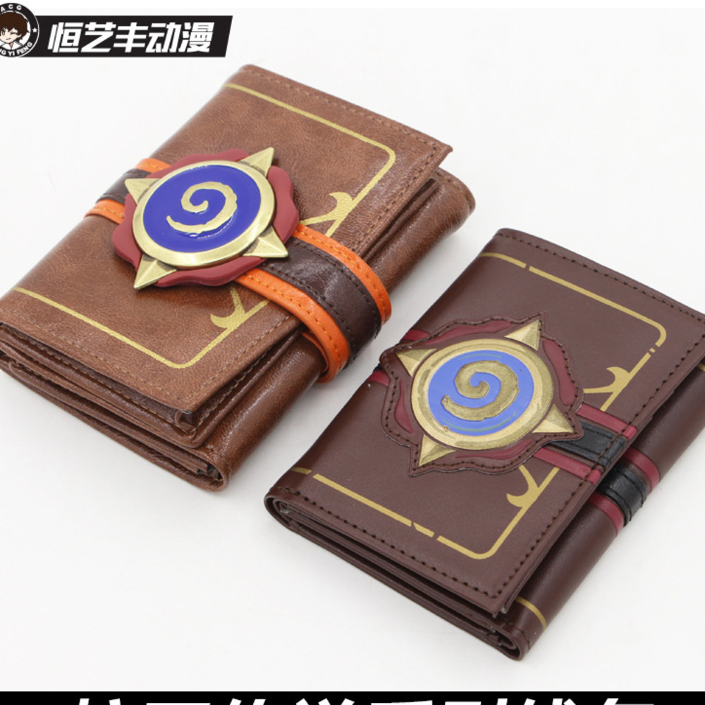 Official Blizzard Hearthstone Legend Wallet Game Periphery Furnace Sign Men And Women Card Package Bring Deduct Money Package