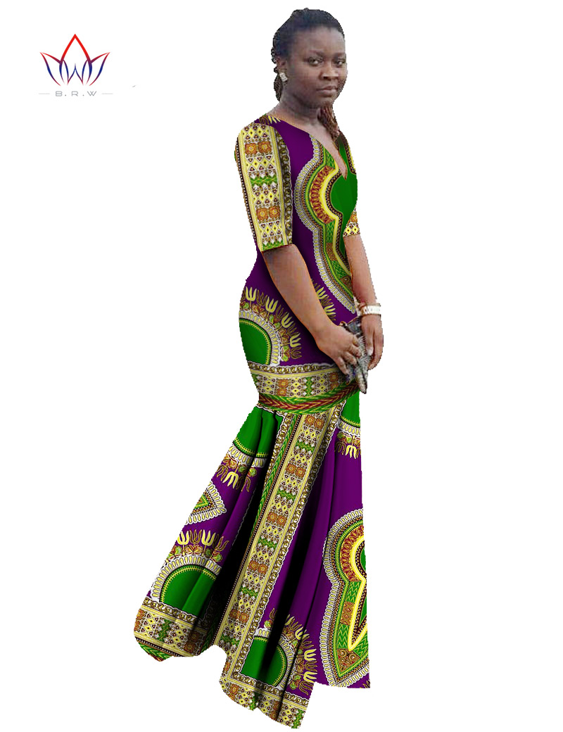 2017 Vestido De Festa Vestidos Casual Dress Party Maxi Dress Custom Women Dress Brand Floor Length Print Half Sleeve Dress WY406