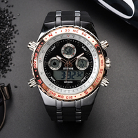 hot S8002 Stryve MEN'S BRAND WATCHES FASHION DESIGNER DIGITAL QUARTZ MOVEMENT MEN'S MILITARY WATCHES HOT SALE relogio masculino