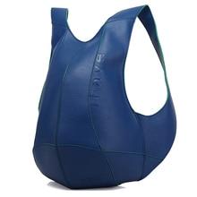 Women Backpack PU Leather School Bags For Teenage Girls Leis
