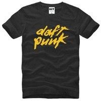 DAFT PUNK ALIVE DANCE DJ Electronic Music T Shirts Men Summer Style Short Sleeve O Neck