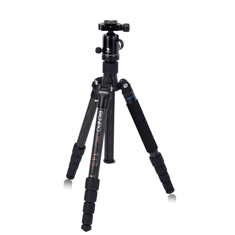 Benro C2692TV1 SLR Camera Bracket Carbon Fiber Tripod Folding Tripod Multifunctional Support For Photography Professional TripodBenro C2692TV1 SLR Camera Bracket Carbon Fiber Tripod Folding Tripod Multifunctional Support For Photography Professional Tripod