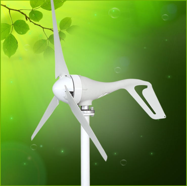 BOGUANG 100w Wind Turbines generator the horizontal axis for  complementary applications with solar panel light power charge multilevel logistic regression applications