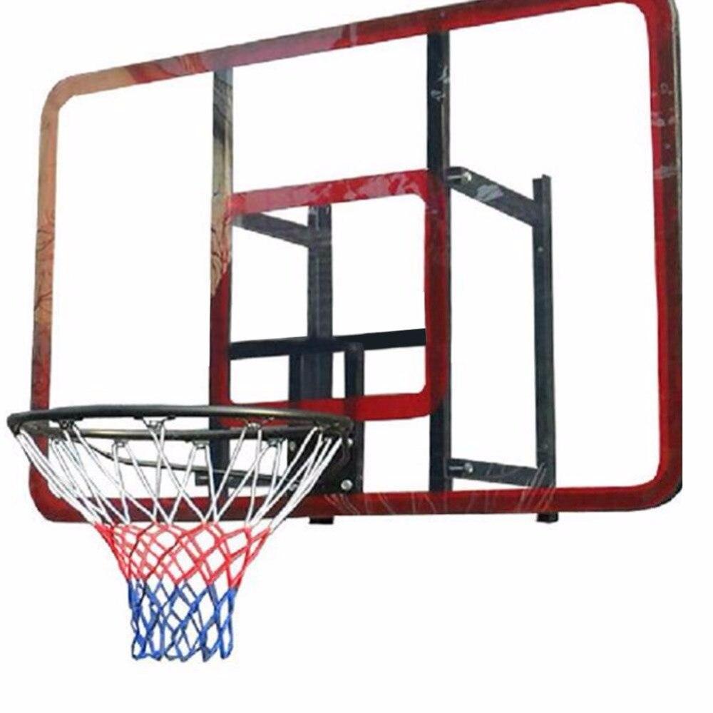 Universal Colorful Basketball Net Basketball Basket Backboard Mesh Net Net Standard  Hoop Rim Nylon Hoop Goal Rim Mesh