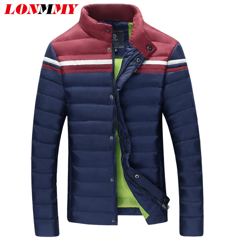 LONMMY M-3XL parka men jacket Thick jaquetas Casual winter coat clothes mens man New 2016 - store