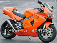 Hot Sales,ABS plastic Motorcycle Body kit For Honda VFR800 Fairing 98 01 VFR 800 1998 2001 Orange Aftermarket Motorcycle Fairing