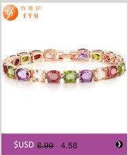 Fym модное красочное ожерелье + кольца в форме полых цветов
