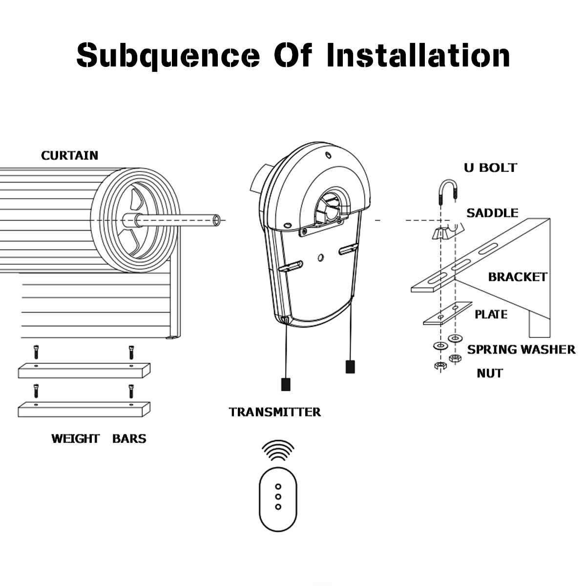 110 V 600N garażowe drzwi Auto Opener silnik z 3 pilot zdalnego sterowania elektryczny operatora do bramy rolowanej automatyczne napędy do drzwi
