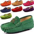 2014 New fashion Moccasins boat shoes boys and girls sneakers leather casual baby single shoes