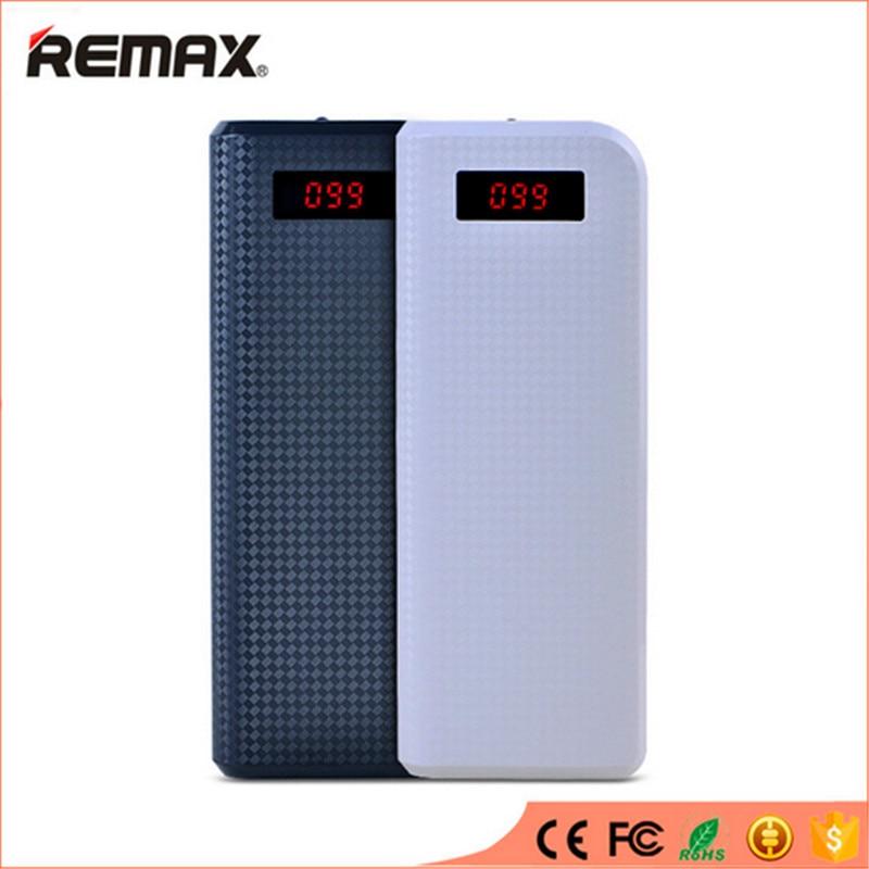 imágenes para Remax banco portable 20000 mah batería externa powerbank cargador de batería externa para iphone 7 6 s para samsung teléfono móvil