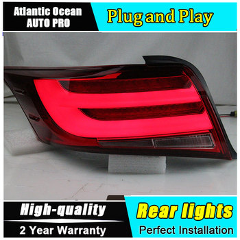 Car Styling LED Tail Lamp for Toyota Vois Taillights 2013-2016 New Rear Light DRL+Turn Signal+Brake+Reverse auto Accessories led