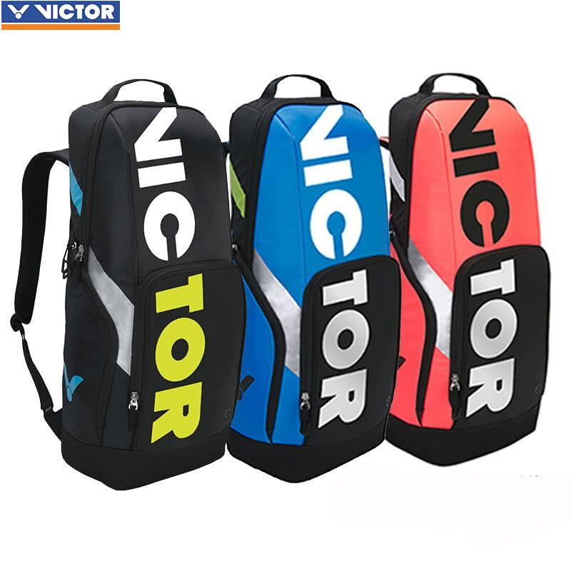 2018 original Victor Badminton Bag tennis bag Sport Brand Racquet Sports Backpack BR8018