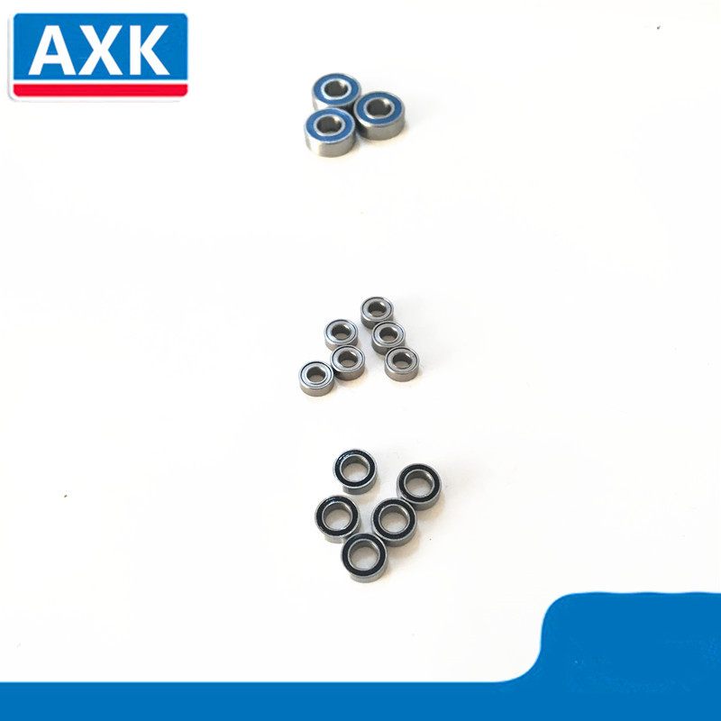 Axial Wraith Ball Bearing Set ABEC-3 Blue Rubber SEALS Bearing Kit 23pcs image