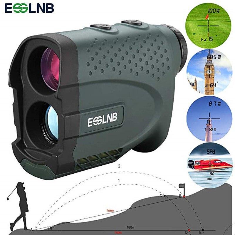 Telescope Laser Rangefinders Distance Meter Digital 7X 600M Monocular Hunting Golf Laser Range Finder Tape Measure