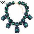 2016 nuevo diseño Z collar de moda collar de Cristal collares de cristal y colgantes de La Vendimia collar de la declaración para las mujeres