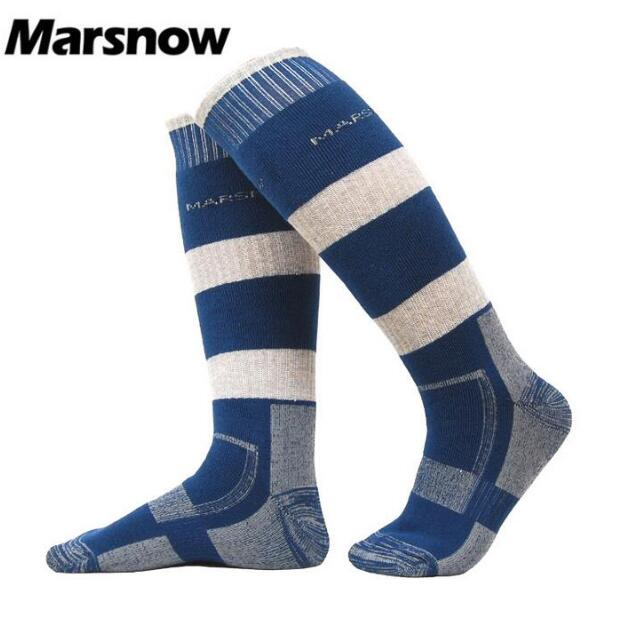 Marsnow Professional Winter Men Women Thermal Ski Socks Combed Cotton Wool Sport Snowboa ...