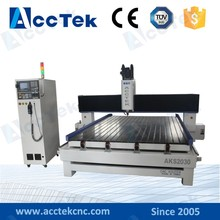 Factory price cnc granite engraving lathe AKS2030 stone carving processing machine