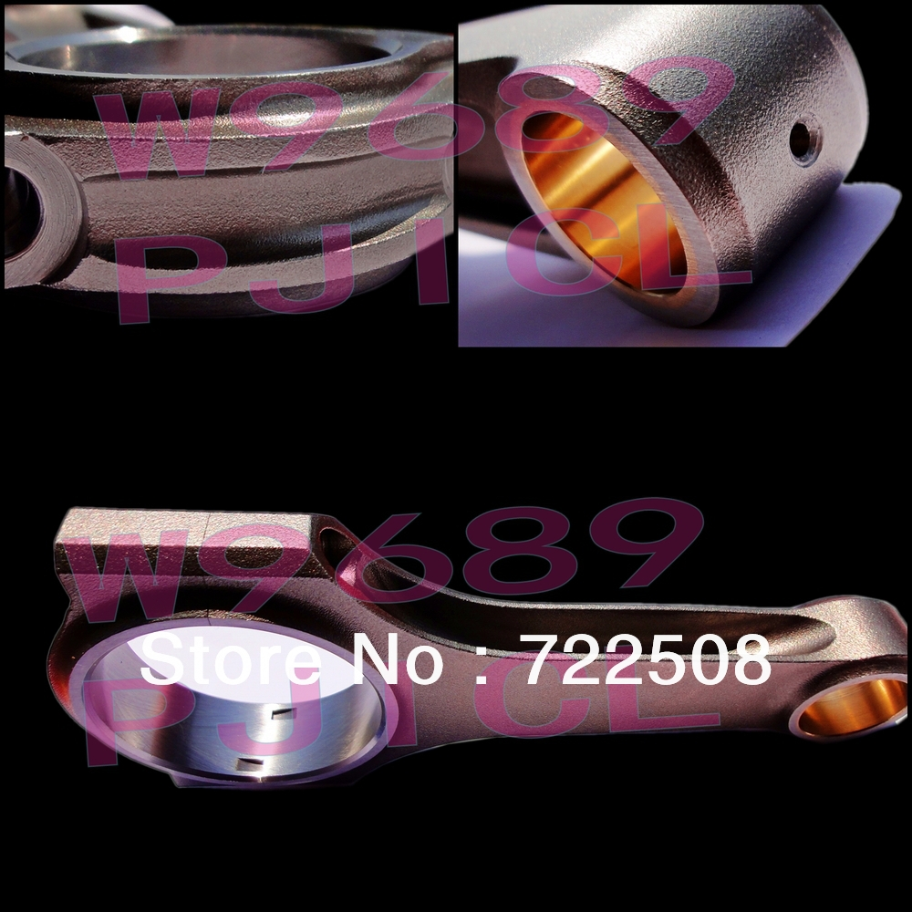 connecting rod for volvo B230 4340 Steel H-Beam145mm Rod Length fit arp bolt free shipping high quality with warranty free shipping ptfe stir rod for overhead stirrer