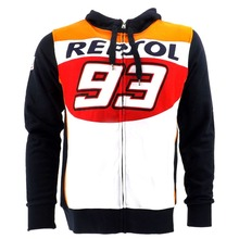 free shipping 2016 NEW Racing Marc Marquez 93 Hon Repsol Moto GP Hoodie Sports  MOTOGP Motorbike Coat