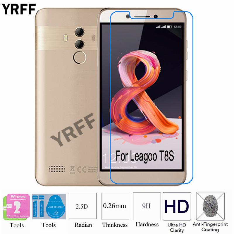 2PCS For Leagoo T8S 2.5D 0.25mm 9H Tempered Glass Screen Protector Protective Film For Leagoo T8S T8 S Free Tools2PCS For Leagoo T8S 2.5D 0.25mm 9H Tempered Glass Screen Protector Protective Film For Leagoo T8S T8 S Free Tools