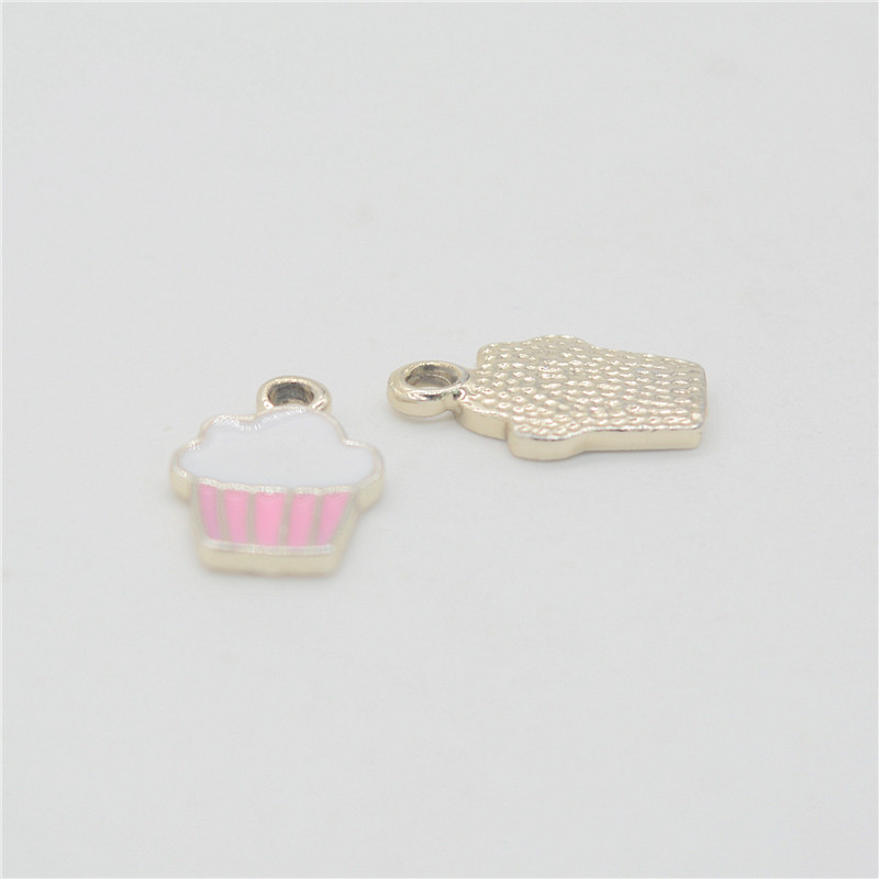 40PCS Kc font b gold b font ice cream Enamel Alloy font b jewelry b font