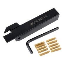 10 sztuk Mgmn300 M wkładki + Mgehr2020 3 prawa ręka Toolholder wytaczak z kluczem do tokarki toczenie narzędzia