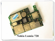Russia language Original Motherboard For Nokia Lumia 720 Mainboard Logic Board Free shipping