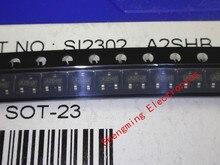 3000 قطعة SI2302 SI2302DS A2SHB سوت 23