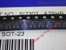 3000 pièces SI2302 SI2302DS A2SHB SOT 23
