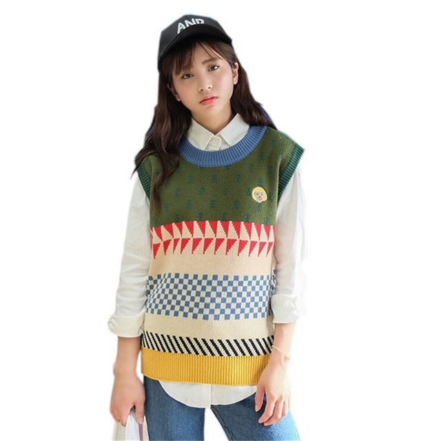 Online Shop Harajuku Women Casual Sweater 2017 Autumn Vintage ...