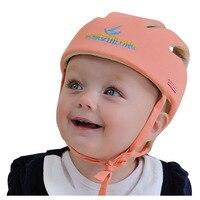 Capacete Protetor Capacete de Segurança Para Bebês Infantil Da Criança do bebê Chapéu de Proteção Macia para Walking Crianças Das Meninas Dos Meninos Chapéu Crianças Cap