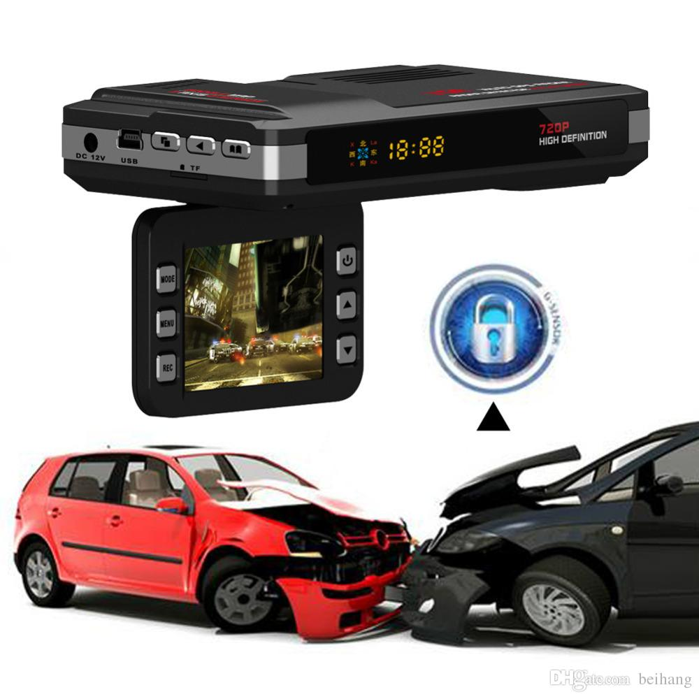 Russian version 3 in1 STR8500 Car Radar detector GPS logger+ DVR Speed Detector 2.0