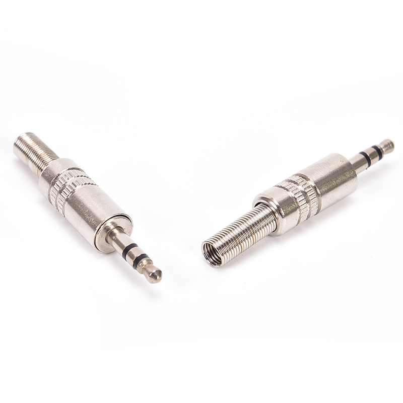 1/<font><b>5</b></font>*Replacement <font><b>3</b></font>.5mm <font><b>3</b></font> Pole Male Repair Headphones Audio <font><b>Jack</b></font> Plug Connector Soldering For Most Earphone <font><b>Jack</b></font> image