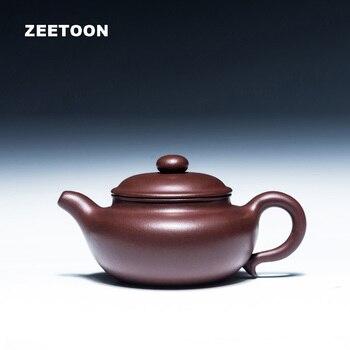 180cc аутентичный Yixing чайный горшок Fang Gu горшок ручной работы китайский уход за здоровьем фиолетовая глина чайный набор кунг фу чайный набор а