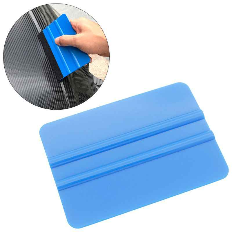 High QualityCar Window Glass Tint Squeegee Contour Scraper Auto Vinyl Film Wrapping Cleaning Automotive Tools