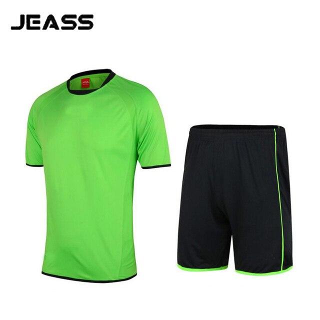 US $15.84 34% OFF|Herren Kinder Jungen Fußball Jersey + Short Fußball trikot Set Futbol Shirt + Short Fußball Team Training Kleidung maillot de