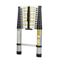 Newest Lightweight Telescopic Aluminium Ladder Multifunctional Step Ladder 4.1M Folding Extendable Stepladder Home Parts
