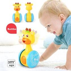 Детские погремушки, кукла-стакан, детские игрушки, Милый Колокольчик, музыка, Roly-poly Обучающие игрушки, подарки, детские игрушки с колокольчи...