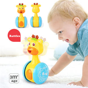 SQHOHO Baby Rattles Doll Music Education Toys Bell Baby