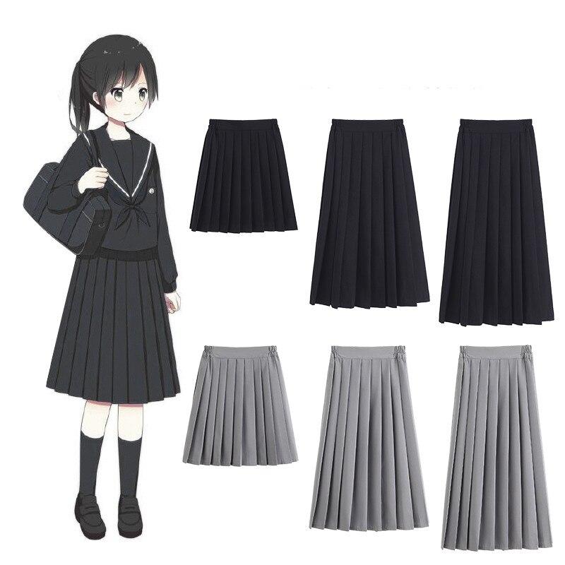 New 2019 Orthodox Uniform College Costume School Girl Jk School Uniformsshort Skirt Pleated Skirt Sailors Girls Clothing Xs-5xl