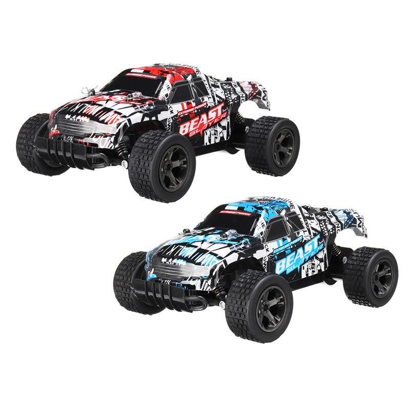 2,4G 1:20 4WD 48 км/ч высокоскоростной грузовик с дистанционным управлением Электрический грузовик внедорожник игрушечный Радиоуправляемый авто...