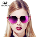 VEGOOS Real Polarized Men & Women Sunglasses Aviation Flash Mirrored Lens UV Protection Eyewear Female Pilots Sun Glasses #3025V